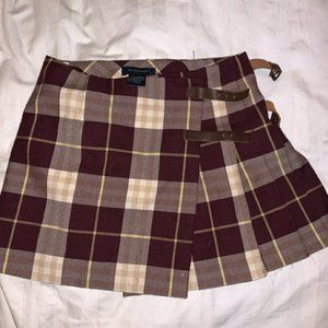 Authentic Burberry pleated  skirt for girls/ XXS